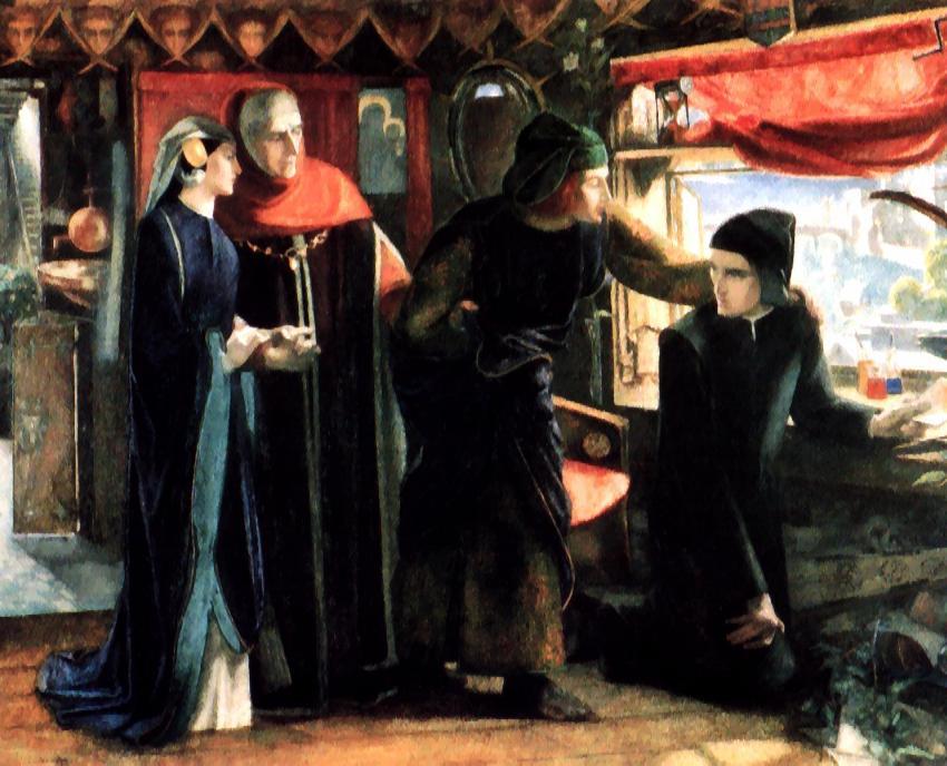 Dante decide escribir su obra maestra en nombre de su amada
